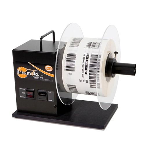 Labelmoto electric label rewinder LR4500W