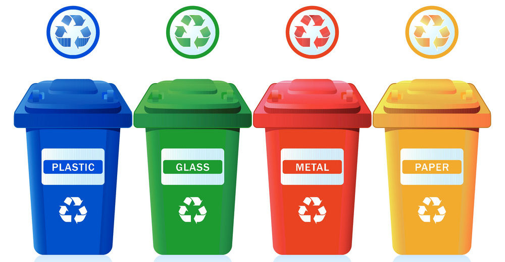 labels on bins
