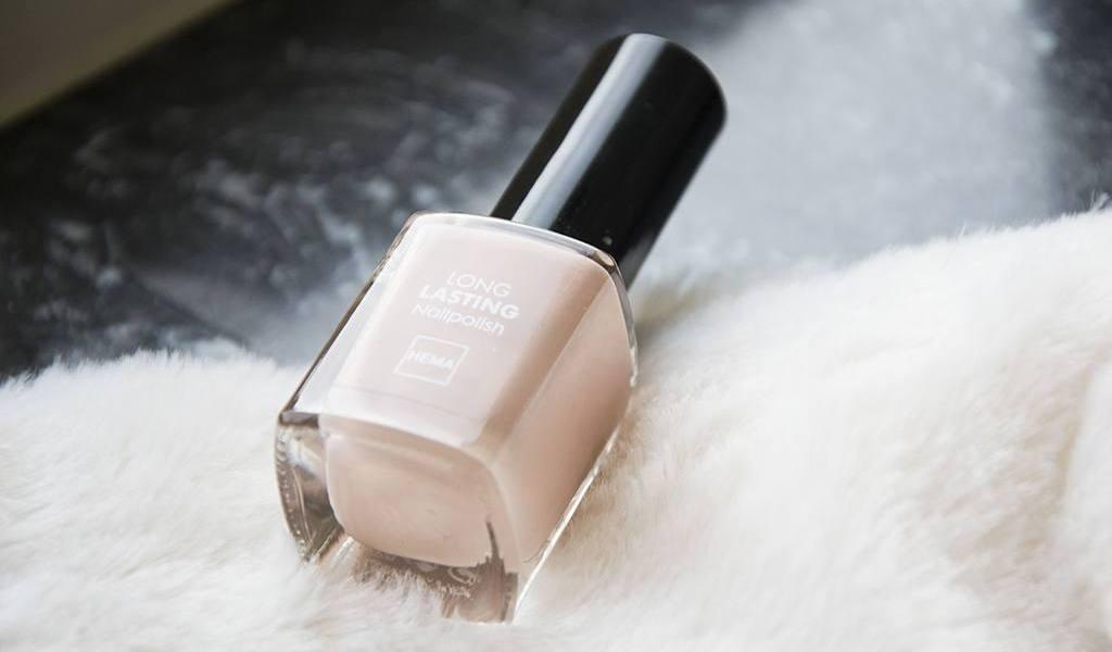 Hema Long lasting nailpolish - Nude kleur | Label of Suze