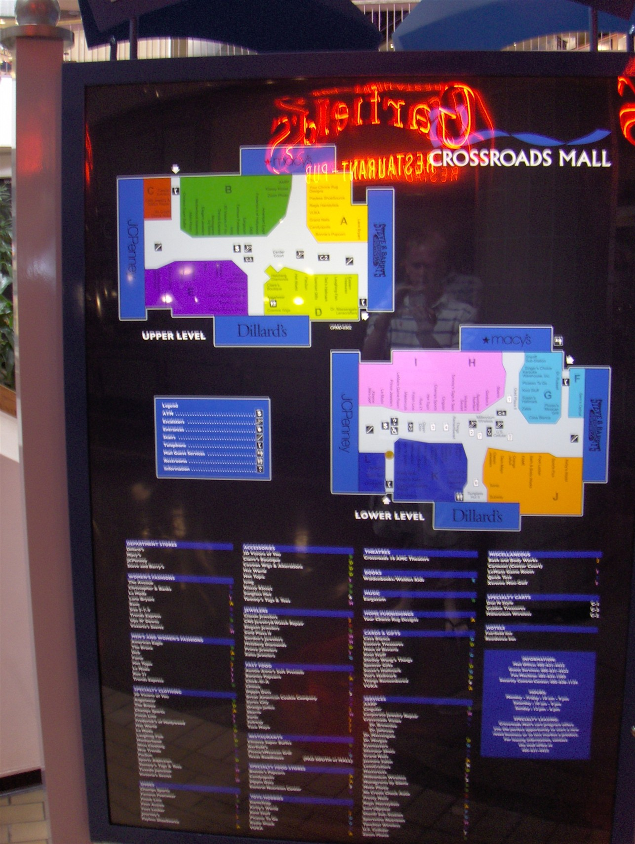 City Creek Mall Map : creek, Metro, Directory