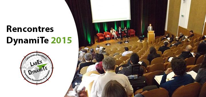 Rencontres DynamiTe 2015 - Bilan