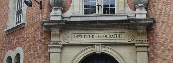 Appel à communication – Journée des jeunes chercheurs de l'Institut de Géographie de Paris 2018