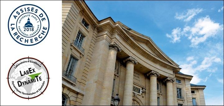 Assises de la recherche de l'Université Paris 1 Panthéon-Sorbonne
