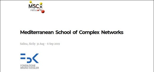 Mediterranean School of Complex Networks