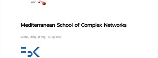 6e édition de la Mediterranean School of Complex Networks