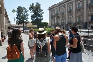 04 - Visite du Monastère des Bénédictins de l'Université de Catane