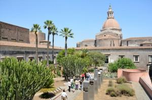 19 - Visite du Monastère des Bénédictins de l'Université de Catane