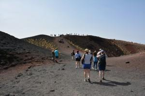 56 - Sortie de terrain sur l'Etna