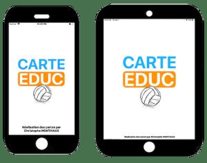 CartEduc VolleyBalle - iPad et iPhone