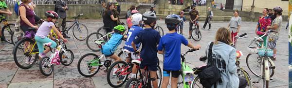 Bicis niños Festival Parees (2017).
