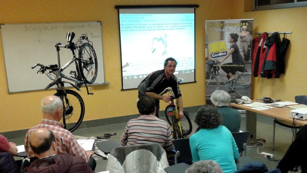 Curso de mecánica basica de bicicleta - UP Gijón 2018