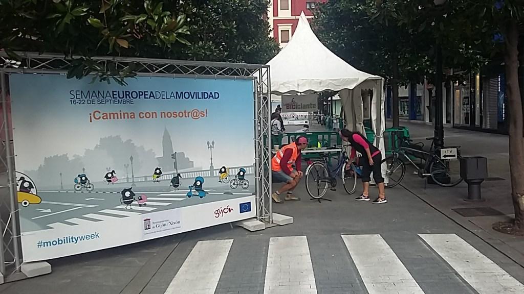 ITV de bicicletas - La Biciclante - SEM 2019 Gijón