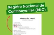 Registro Nacional de Contribuyente (RNC)