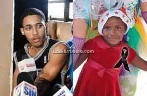 Rimalqui Mercado Mena y la niña Yulensky Batista