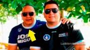 Miguel Arturo López Florencio y Miguel Arturo López Pilarte, padre e hijo.