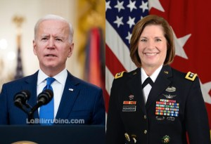 Joe Biden nominó a la teniente general Laura Richardson como jefa del Comando Sur