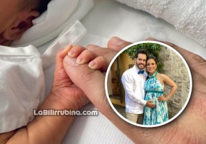 Manny Cruz comparte la primera imagen de su bebé Monserrat