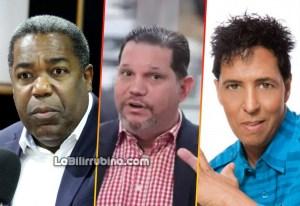 Tony Peña Guaba, Engelbert Landolfi y Bonny Cepeda