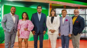 Hony Estrella, la Shanty, Michael Miguel Holquín, Domingo Bautista y Raulito Grisanty