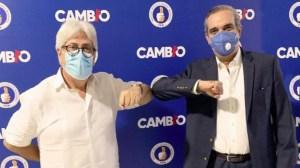 Mauricio De Vengoechea Rodríguez y Luis Abinader