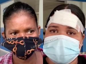 Julia Ventura Santos y Kirsy Noemí Reyes Hidalgo