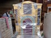 Artesanos diseñan silla al presidente Luis Abinader