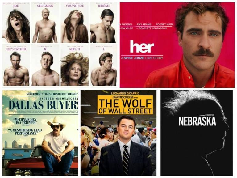 Classifica 5 migliori film del 2014