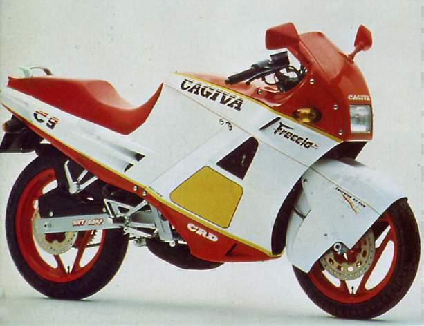 Amarcord, pillole motociclistiche – Cagiva 125 Freccia C9