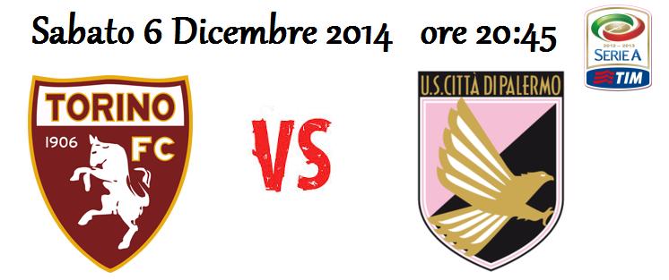 Torino – Palermo (06/12/2014) [Live Blog]