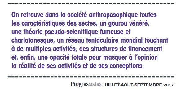 secte, revue progressistes