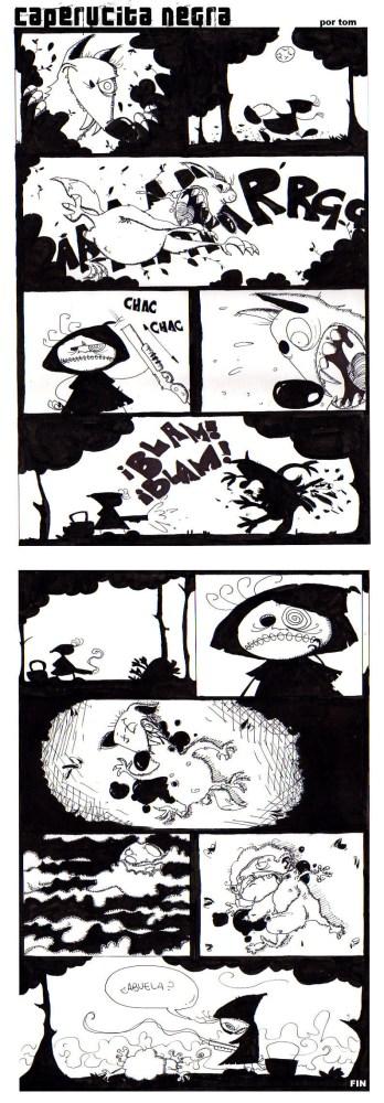 Caperucita negra...una historia que pasó en serio!!