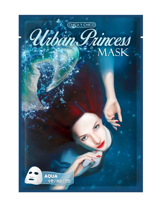 Aqua sheet mask of Skin&lab