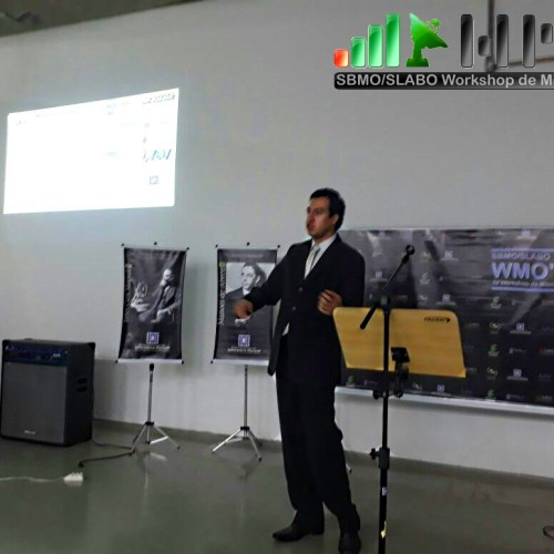 Apresentação da pesquisa de Realidade Aumentada aplicada a análise do Coração pelo sr. Bruno Santos do Campus São Paulo do IFSP.