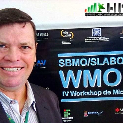 Prof. MSc. e Eng. Arnaldo, uma das mais relevantes personalidades do cenário de Telecom da América Latina, participando do WMO.