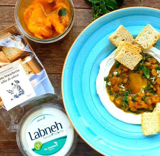 labneh, healthy, paprika, vegetables, calories, nutrition