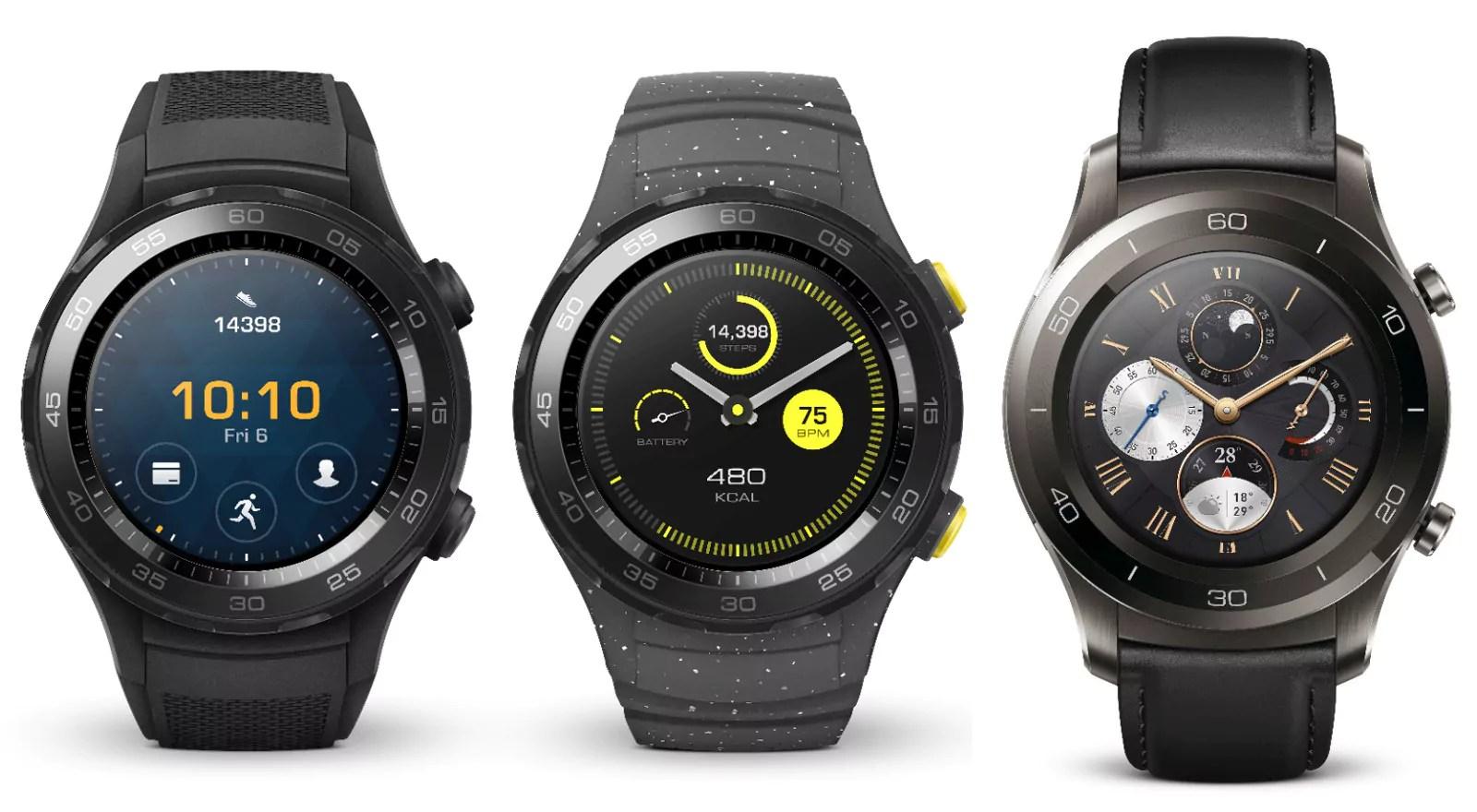 Des promos sur les Huawei Watch 2 et Band 2 Pro