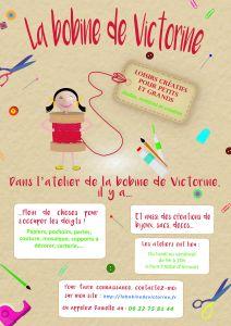 Affiche de communication pour les ateliers de la Bobine