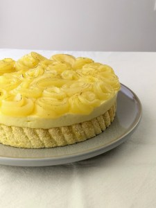 Pear Charlotte Cake