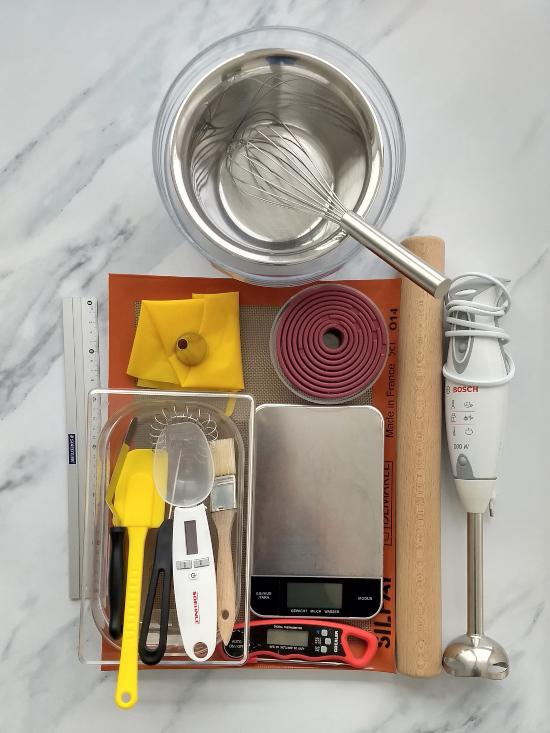 Equipment for Modern Pastry (Pâtisserie)