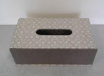 Boite à mouchoirs rectangulaire 24-Simone T