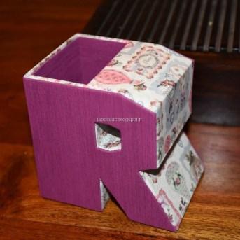 Pot à crayons Alphabet 24-Elisabeth M