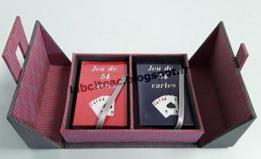 Boite à jeux de cartes 2-Brigitte de MS