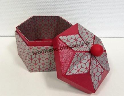 Boite Origami revisitée 16-Josette L