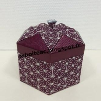 Boite Origami revisitée 20-Béatrice R