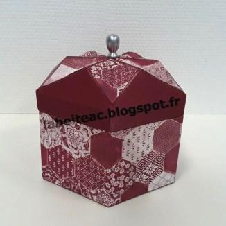 Boite Origami revisitée 22-Martine M