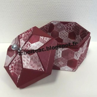 Boite Origami revisitée 23-Martine M