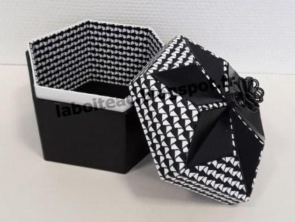 Boite Origami revisitée 52-Maria R