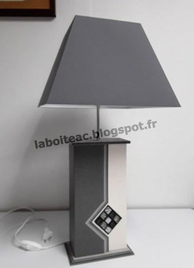 Lampe mosaïque 56-Nadine B