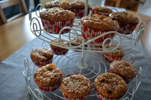 muffins gingerbread
