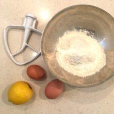 ingrédients pâtes fraiches